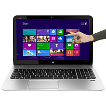 "Buy HP Envy TouchSmart 15-j102sa Laptop, Intel Core i5, 4GB RAM, 1TB, 15.6"" Touch Screen, Natural Silver Online at johnlewis.com"