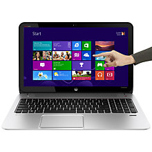 "Buy HP Envy TouchSmart 15-j106sa Laptop, Intel Core i7, 8GB RAM, 1TB, 15.6"" Touch Screen, Silver Online at johnlewis.com"