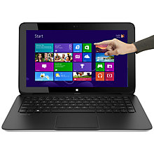 "Buy HP Pavilion 13-p106sa x2 Convertible Tablet Laptop, AMD A6, 4GB RAM, 500GB+ 64GB SSD, 13.3"" Touch Screen, Black Online at johnlewis.com"