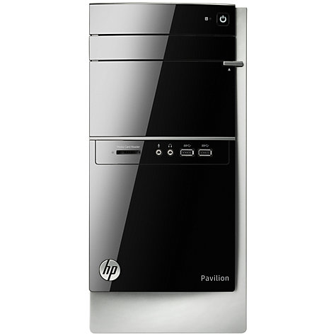 Buy HP Pavilion 500-268ea Desktop PC, Intel Core i7, 8GB RAM, 2TB, Black Online at johnlewis.com