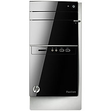 Buy HP Pavilion 500-245ea Desktop PC, Intel Core i5, 6GB RAM, 2TB, Black Online at johnlewis.com