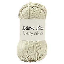 Buy Debbie Bliss Luxury Silk DK Yarn, 50g Online at johnlewis.com
