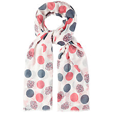 Buy White Stuff Apple Print Scarf, Multi Online at johnlewis.com