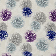 Buy John Lewis Pom Pom Curtain, Purple, was £20.00 per metre now £10.00 per metre Online at johnlewis.com