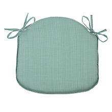 Buy John Lewis Gem Seat Pad, Duck Egg Online at johnlewis.com