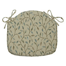 Buy John Lewis Cervino Seat Pad, Duck Egg Online at johnlewis.com