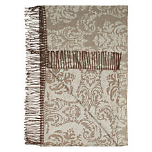 Buy John Lewis Lancaster Throw, Natural Online at johnlewis.com
