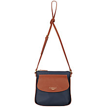 Buy Fiorelli Ashleigh Across Body Bag, Brown / Navy Online at johnlewis.com