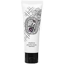 Buy Diptyque Eau Rose Hand Lotion, 50ml Online at johnlewis.com