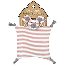 Buy Organic Farm Buddies Mouse Comforter Online at johnlewis.com