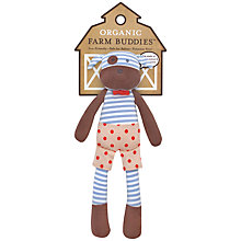 Buy Organic Farm Buddies Dog Soft Toy Online at johnlewis.com