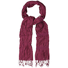 Buy White Stuff Catch Me Scarf, Betroot Online at johnlewis.com