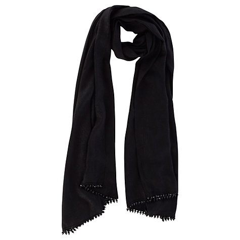Buy Coast Milly Wrap, Black Online at johnlewis.com