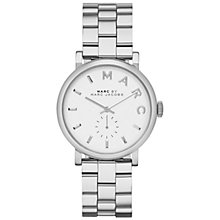 Buy Marc by Marc Jacobs MBM3242 Women's Baker Bracelet Strap Watch, Silver Online at johnlewis.com