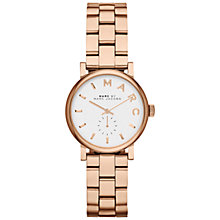 Buy Marc by Marc Jacobs Women's Mini Baker Bracelet Strap Watch Online at johnlewis.com