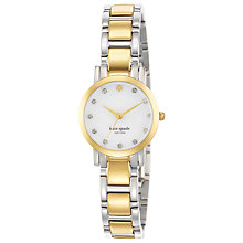 Buy kate spade new york Women's Gramercy Mini Crystal Dial Watch Online at johnlewis.com