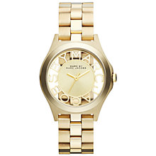 Buy Marc by Marc Jacobs Women's Skeleton Dial Bracelet Strap Watch Online at johnlewis.com
