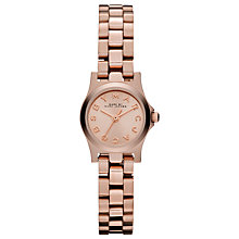 Buy Marc by Marc Jacobs MBM3200 Women's Dinky Bracelet Strap Watch, Rose Online at johnlewis.com