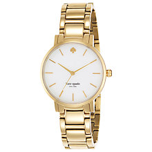 Buy kate spade new york Women's Gramercy PVD Bracelet Strap Watch Online at johnlewis.com