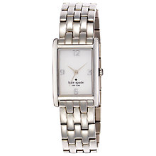 Buy kate spade new york Women's Cooper Bracelet Strap Rectangular Watch Online at johnlewis.com