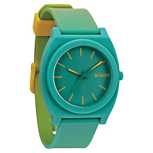 Buy Nixon Unisex The Time Teller Polycarbonate Silicone Strap Watch Online at johnlewis.com