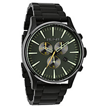 Buy Nixon Men's The Sentry Chronograph Stainless Steel Watch Online at johnlewis.com