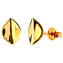 Buy Dinny Hall Spiritual Flower Lotus Petal Large Stud Earrrings Online at johnlewis.com