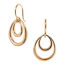 Buy Dinny Hall Small Toro Spanish Hoop, Rose Gold Online at johnlewis.com