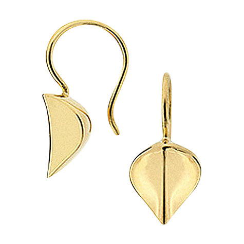 Buy Dinny Hall Lotus Leaf Drop Hook Earrings Online at johnlewis.com