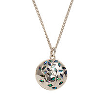 Buy Dinny Hall Oyster Shell Engraved Sterling Silver Locket Online at johnlewis.com