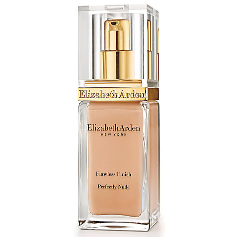 Buy Elizabeth Arden Flawless Finish Perfectly Nude Foundation SPF 15 Online at johnlewis.com