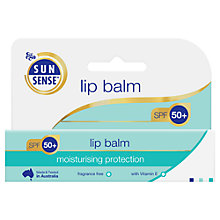 Buy Sunsense Lip Balm SPF 50 Moisturising Protection, 15ml Online at johnlewis.com