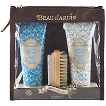 Buy Heathcote & Ivory Beau Jardin Spearmint Foot Care Set Online at johnlewis.com
