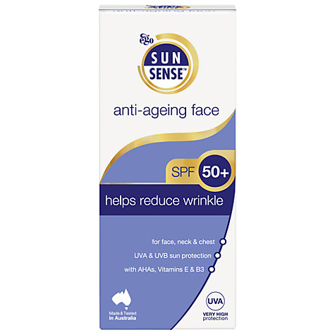 Buy Sunsense Daily Anti-Ageing Face SPF 50+ Sunscreen, 100ml Online at johnlewis.com
