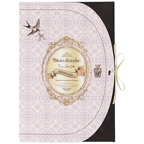 Buy Heathcote & Ivory Beau Jardin Lavender & Jasmine Drawer Liners, Pack of 5 Online at johnlewis.com