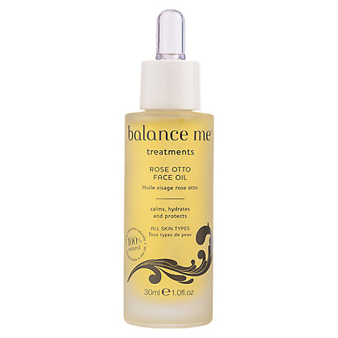 Buy Balance Me Rose Otto Face Oil, 30ml Online at johnlewis.com