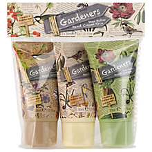 Buy Heathcote & Ivory Gardeners Shea Butter Hand Cream Trio, 3 x  30ml Online at johnlewis.com