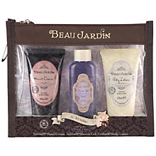 Buy Heathcote & Ivory Beau Jardin Lavender & Jasmine Au Revoir! Bath & Body Gift Set Online at johnlewis.com
