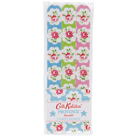 Buy Cath Kidston Provence Assorted Emery Boards, Pack of 3 Online at johnlewis.com