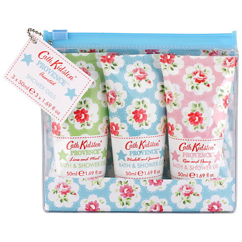 Buy Cath Kidston Provence Assorted Shower Gels, Pack of 3 Online at johnlewis.com