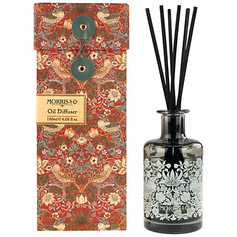 Buy Heathcote & Ivory Morris & Co. Reeds and Oil Diffuser, 150ml Online at johnlewis.com