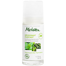 Buy Melvita Purifying 24 Hour Effective Deodorant, 40ml Online at johnlewis.com
