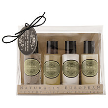 Buy Naturally European Rose Petal Luxury Travel Collection, 4 x 50ml Online at johnlewis.com