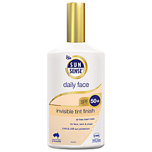Buy Sunsense Daily Face Invisible Tint Finish SPF 50+ Sunscreen, 200ml Online at johnlewis.com