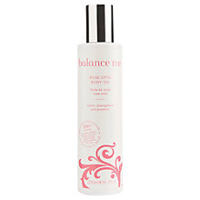 Buy Balance Me Rose Otto Body Oil, 200ml Online at johnlewis.com