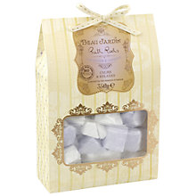 Buy Heathcote & Ivory Beau Jardin Lavender & Jasmine Bath Rocks, 350g Online at johnlewis.com