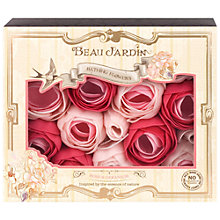 Buy Heathcote & Ivory Beau Jardin Rose & Geranium Bathing Flowers, 70g Online at johnlewis.com