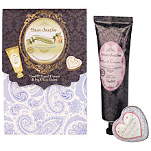Buy Heathcote & Ivory Beau Jardin Lavender & Jasmine Hand & Lip Gift Set Online at johnlewis.com