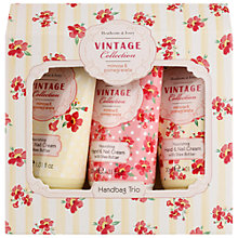 Buy Heathcote & Ivory Mimosa & Pomegranate Hand Cream Handbag Trio, 3 x 30ml Online at johnlewis.com