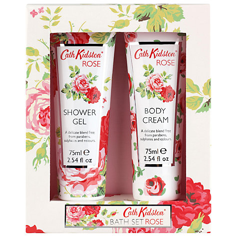 Buy Cath Kidston Rose Bath Set, Pack of 2 Online at johnlewis.com